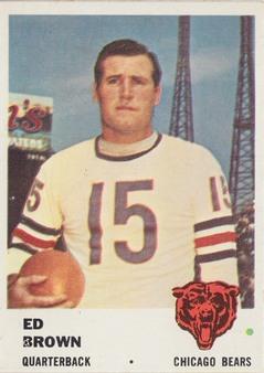 1961 Fleer  AFL/NFL Football set