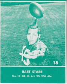 1961 Lake To Lake Green Bay Packers set