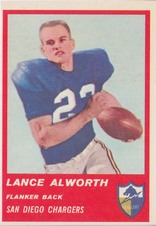 1963 Fleer AFL Football set