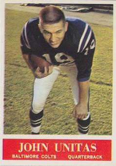 1964 Philadelphia NFL Football set