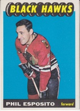1965-66 Topps NHL Hockey set