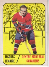 1967-68 Topps NHL Hockey set