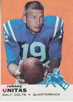 1969 Topps AFL/NFL Football set