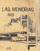 Las Memorias 1963 Seniors Yearbook