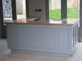 Floating Reception Desk for Killruddery