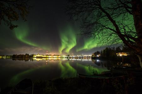 Northern Lights in Autumn 2013