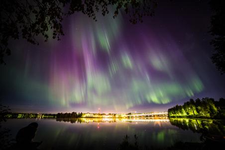 Northern Lights in Autumn 2014