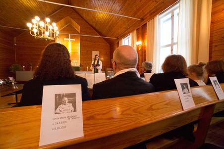 Linda Moilasen hautajaiset
