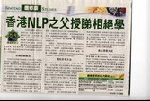 Fr. Zee - Father of NLP in Hong Kong