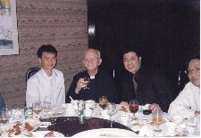 Gathering with late Fr. McGaley S.J.