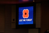 Poppy day at Ibrox