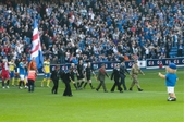 Rangers FC Services day