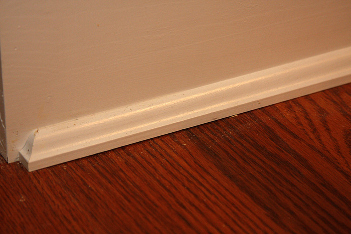 Dear Finish Trim Experts Quarter Round To Baseboard What S The Pro Way Ar15 Com