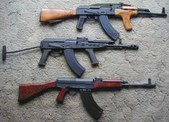 AK47 & Variant rifles (7.62x39)