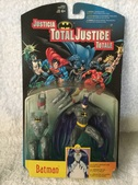 DC Total Justice Action Figures Kenner